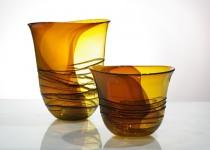 Klasika - vaza stiklo gaminiai