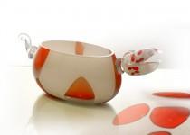 Drakonas-vaza stiklo gaminiai