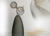 Pučiantis  burbulą stiklo gaminiai