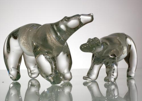 stiklo gaminiai Bear