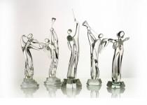 Violinist stiklo gaminiai