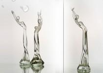 Šokėja I stiklo gaminiai