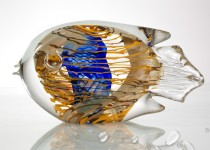 Stylize fish stiklo gaminiai