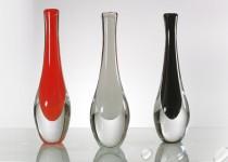 Lašas I stiklo gaminiai