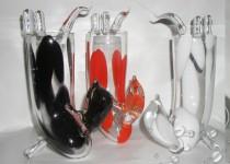 Chien équilibriste stiklo gaminiai