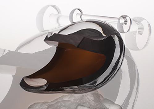 stiklo gaminiai Statybinis kaušas