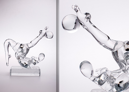 stiklo gaminiai Footballer VIII
