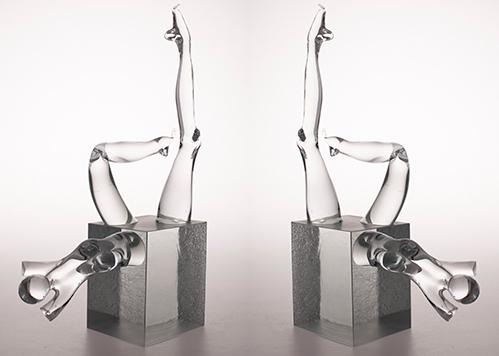 stiklo gaminiai Woman II