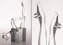 Woman II stiklo gaminiai