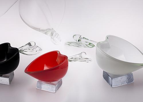 stiklo gaminiai Apples III