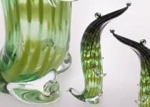 Krokodilas II stiklo gaminiai