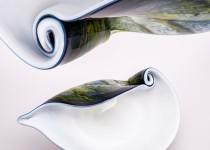 Kriauklė II stiklo gaminiai