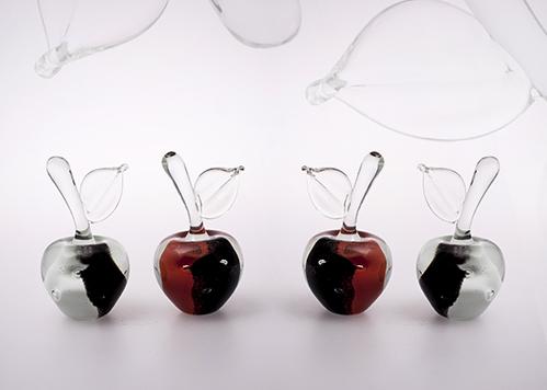 stiklo gaminiai Apples IV