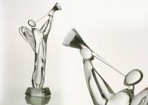 Trimitininkas stiklo gaminiai