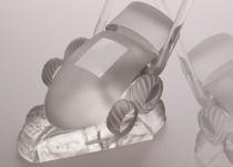 Žoliapjovė stiklo gaminiai