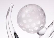 Golf-mug stiklo gaminiai