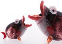 Fish III stiklo gaminiai