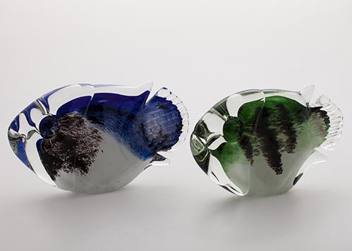 stiklo gaminiai  Stylize fish