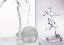 Footballer III stiklo gaminiai