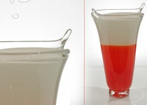 Silence-vase stiklo gaminiai