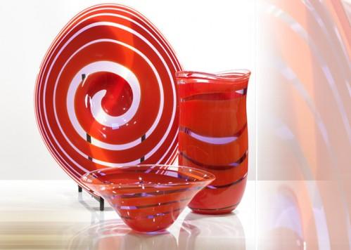 stiklo gaminiai Snail - plate