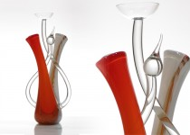 Žvakidė - Gebenė stiklo gaminiai