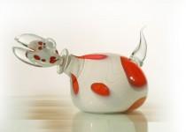 Drakonas-decanter stiklo gaminiai