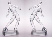 Futbolininkas IV stiklo gaminiai