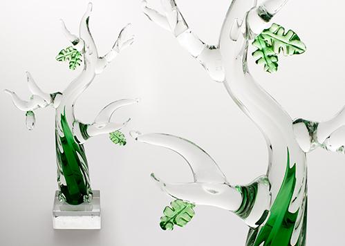 stiklo gaminiai Gyvenimo medis II