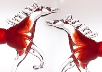 Žirgai stiklo gaminiai