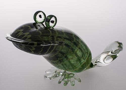 stiklo gaminiai Frog I