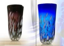 Šerkšnas - vazos stiklo gaminiai