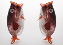 Žuvis I stiklo gaminiai