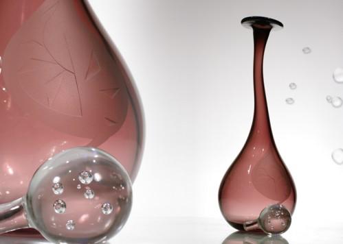 stiklo gaminiai Carafe-goutte III