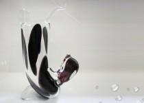 Dog equilibrist-vase stiklo gaminiai
