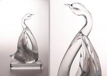 Gulbė I stiklo gaminiai