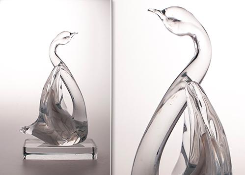 stiklo gaminiai Swan I