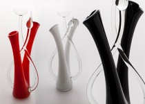 Chandelier-lierre stiklo gaminiai
