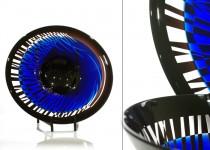 Rūkas-lėkštė stiklo gaminiai