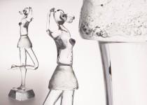 Šokėja II stiklo gaminiai