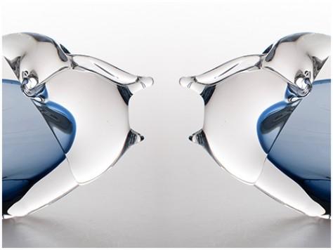 stiklo gaminiai Fish Arafaila
