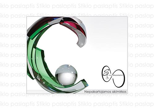 stiklo gaminiai Gift card (up to 290 €)
