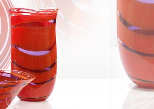 stiklo gaminiai Escargot-vase