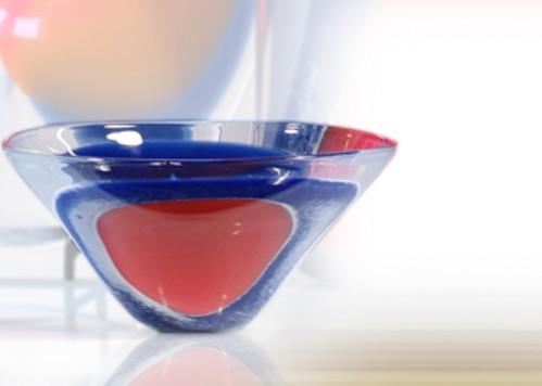 stiklo gaminiai Gouttes-vaisseau