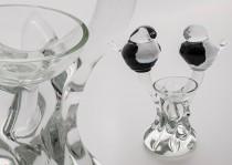 Paukščiai stiklo gaminiai