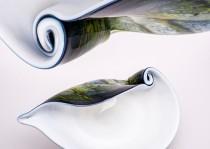 Kriauklė stiklo gaminiai