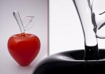 Obuoliai stiklo gaminiai